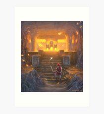 The Fire Temple Art Print