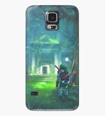 Funda/vinilo para Samsung Galaxy El templo del bosque