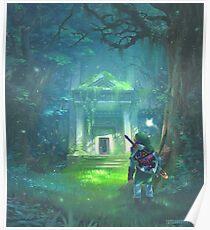 Der Wald Tempel Poster