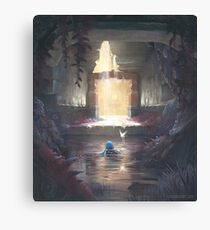 The Water Temple Canvas Print