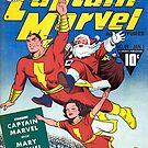 Der Kapitän Weihnachten mit Weihnachtsmann von MaskedMarvel