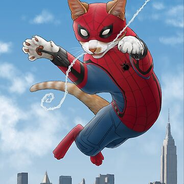 Spider-Cat by jennyparks