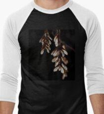 Hanging Maple Tree Seeds Men's Baseball ¾ T-Shirt