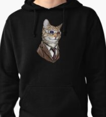 10th Doctor Mew 3D Glasses Pullover Hoodie