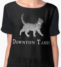Downton Tabby Chiffon Top