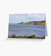 Runswick Bay Greeting Card