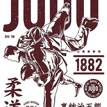JUDO Strength and Courage by Deadscan