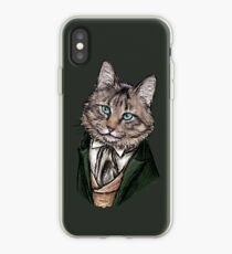8th Doctor Mew iPhone Case