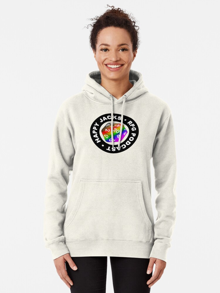 Alternate view of Happy Jacks Rainbow Logo Pullover Hoodie