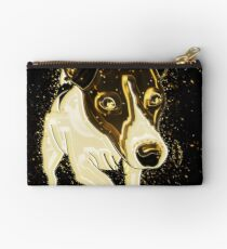 Dog funny golden Gold Studio Pouch
