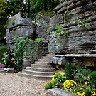 Eureka Spring Arkansas Steps by kittyrodehorst