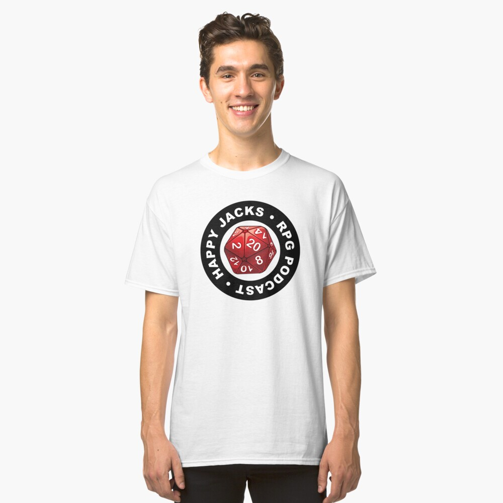 Happy Jacks RPG Logo Classic T-Shirt Front