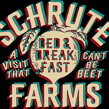 schrute farms vintage by brandyhoocker
