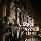 Venice by night by Neil Buchan-Grant