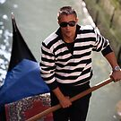 Venice Gondolier by Neil Buchan-Grant