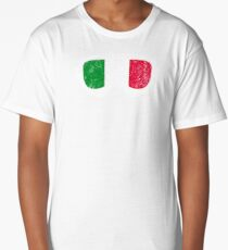 Italian Goggles White Frame Distressed | Goggle Designs | DopeyArt Long T-Shirt