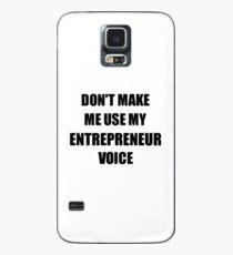 Entrepreneur Gift for Coworkers Funny Present Idea Hülle & Skin für Samsung Galaxy