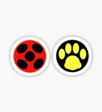 Miraculous Ladybug Pair Sticker