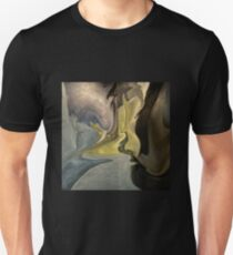 Liquid Color Abstract Unisex T-Shirt