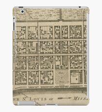 Vintage Map of New Orleans LA (1761) iPad Case/Skin