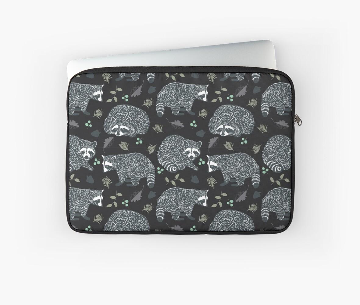 Raccoons! Design 42 / 365 Days of Design by Davida Fernandez