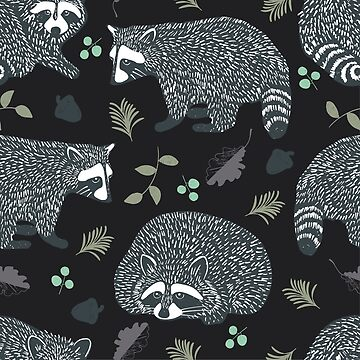 Raccoons! Design 42 / 365 Days of Design by divafern