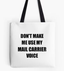 Mail Carrier Gift for Coworkers Funny Present Idea Tote Bag