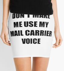 Mail Carrier Gift for Coworkers Funny Present Idea Mini Skirt