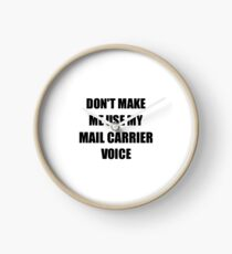 Mail Carrier Gift for Coworkers Funny Present Idea Clock