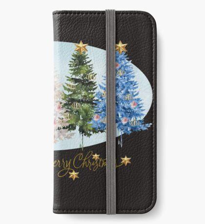Christmas trees (986 Views) iPhone Wallet