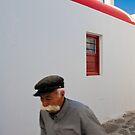Old man of Mykonos by Neil Buchan-Grant