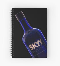 Skyy Blue Spiral Notebook