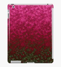 Raspberry olive abstract pattern iPad Case/Skin