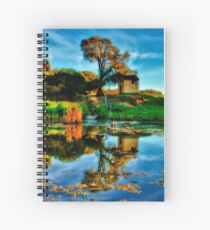 """""""Reflections of The Other Side"""" Spiral Notebook"""