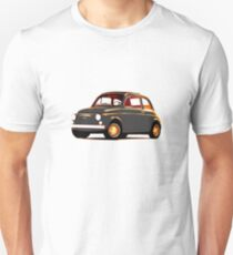 Original Fiat 500: morning glow T-Shirt