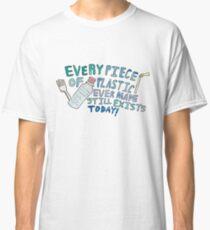 Plastikbewusstsein Classic T-Shirt