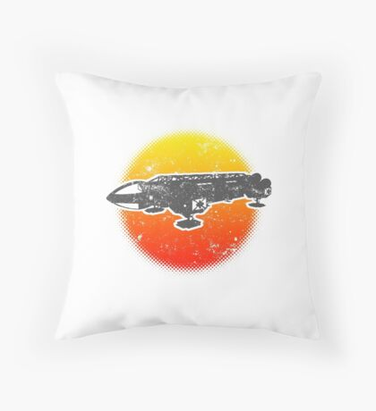 Space Eagle 1 Transporter 1999 Dive Light Throw Pillow