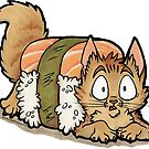 Uh-oh Sushi Cat! by TynderBluekoinu