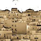 The houses of Vejer de la Frontera by Neil Buchan-Grant