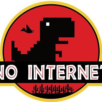 No Internet Dinosaur Park by Schwaz
