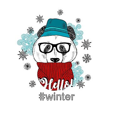 Hello, winter! from mr. Panda by panova
