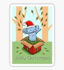 Koala - Hello Christmas Sticker