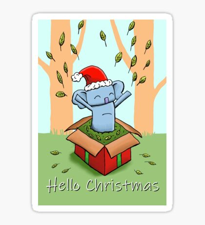 Koala - Hello Christmas Sticker