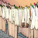 Colorful Rainbow Laundry by peterrobinsonjr