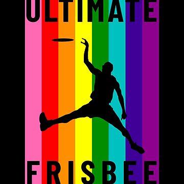 Ultimate Frisbee Rainbow Flag by hadicazvysavaca