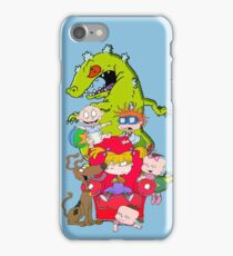 rug rats iPhone Case/Skin