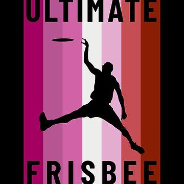 Ultimate Frisbee Lesbian Flag by hadicazvysavaca