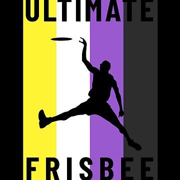 Ultimate Frisbee Non Binary Flag by hadicazvysavaca