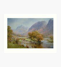 Borrowdale 2, Cumbria, England Art Print