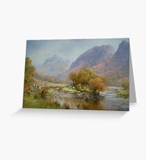 Borrowdale 2, Cumbria, England Greeting Card